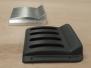 Aluminium vacuümvorm matrijs met eindproduct